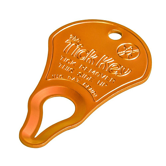 Tick Key Zeckenentferner orange