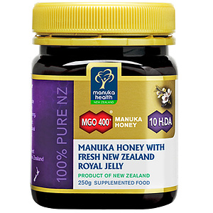 Manuka Honig MGO 400+ Fresh NZ Royal Jelly